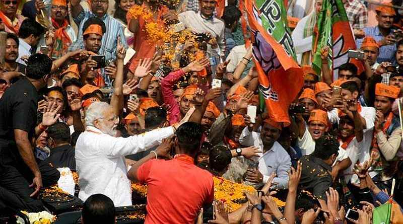 BJP की यूपी-उत्तराखंड में बड़ी जीत